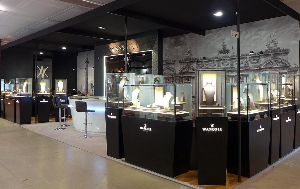 Wedding Exhibition Stand : Baselworld professional fair waskoll joaillier rue