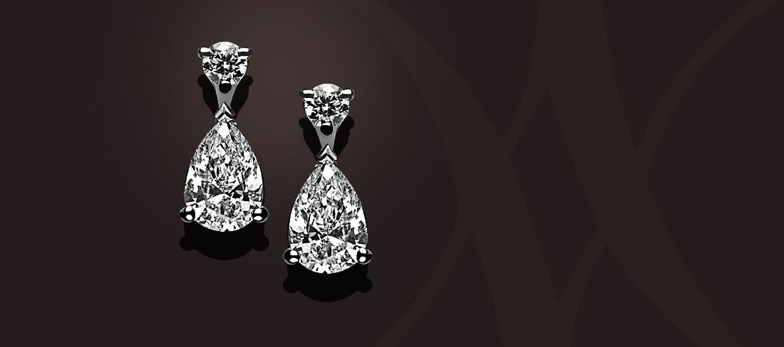 Delicatesse BO Diamants taille poire