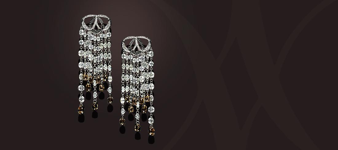 Diamond Chain BO Diamants Briolette