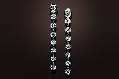 Diamond Chain BO Diamants Platine