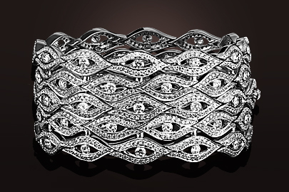Flamme Bracelet Diamants