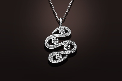 Parfums du Monde Pendentif OB Diamants