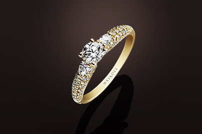 Promesse Bague OJ Diamants