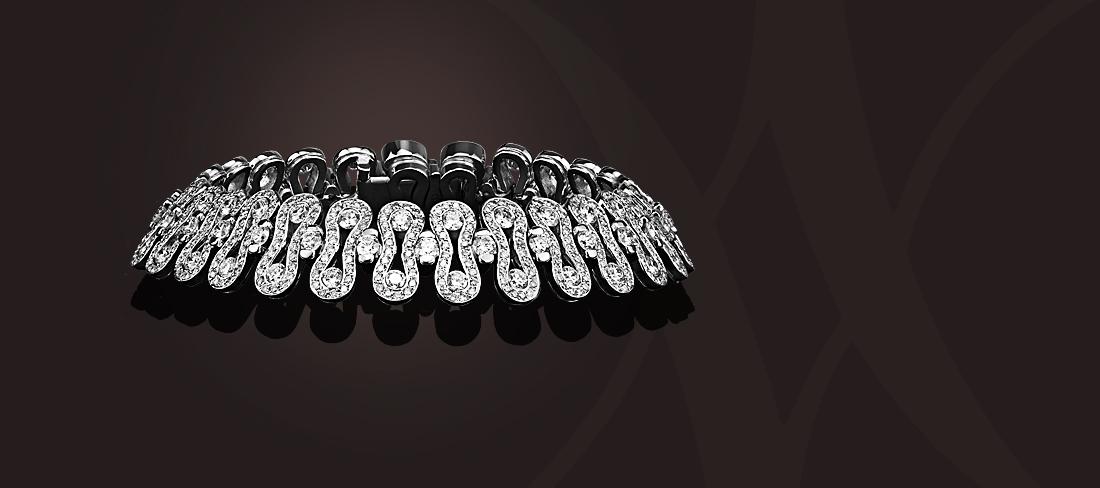Wave Bracelet OB Diamants GD