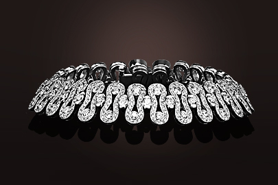 Wave Bracelet OB Diamants