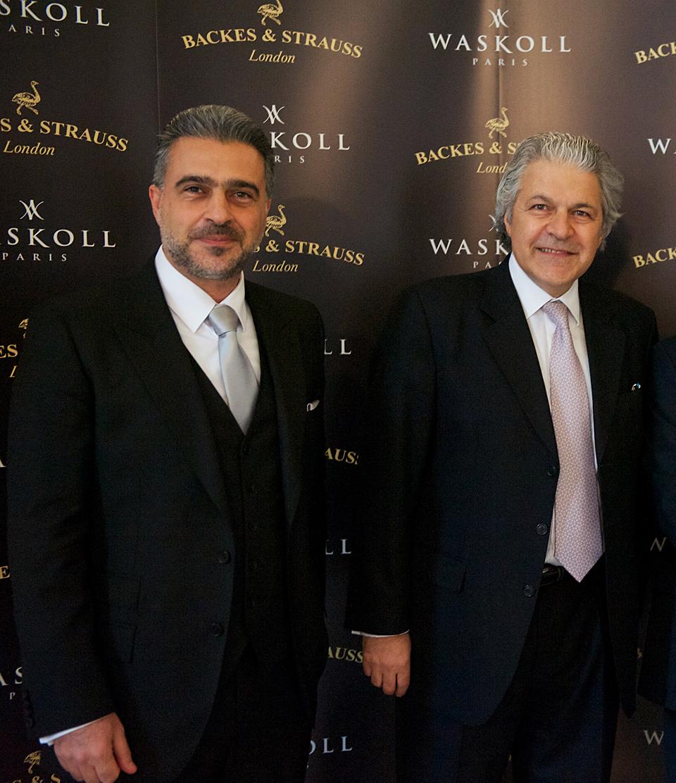 Kirk Waskoll et Vartkess Knadjian