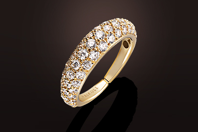 Tendresse Bague OR Diamants