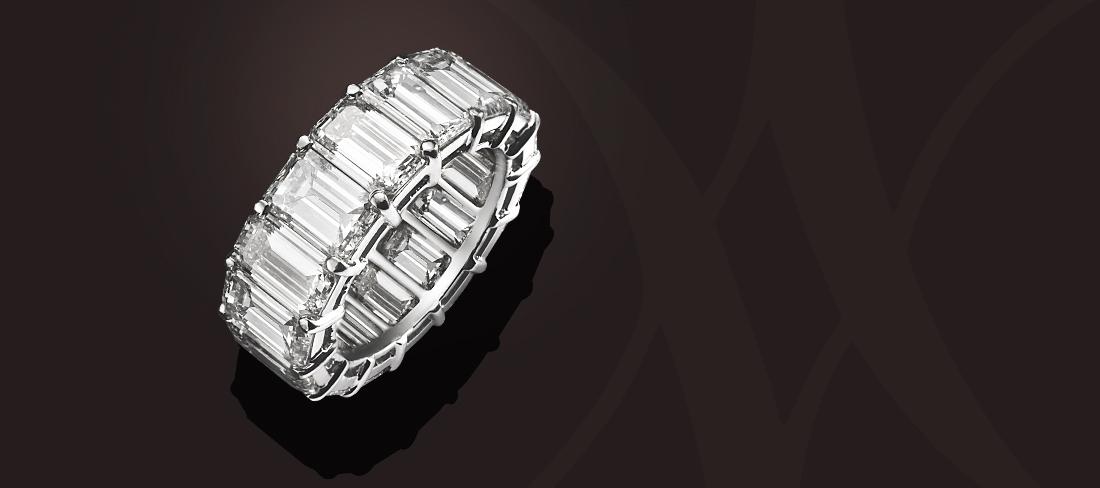 Unique Bague DABA001 or blanc diamants
