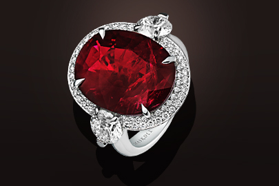 Bague OB Diamants Rubis