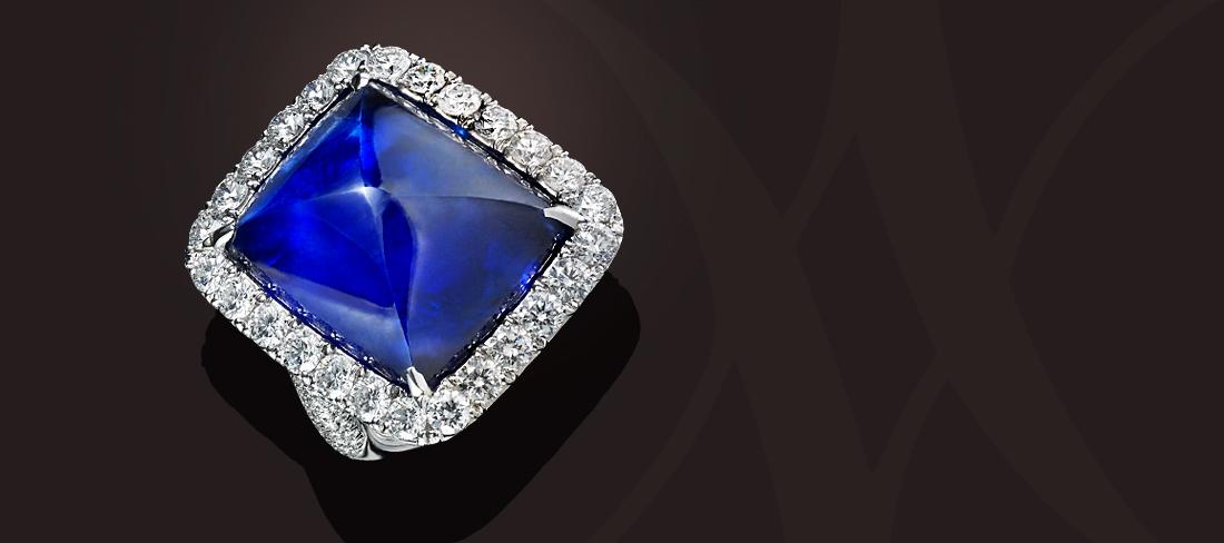 Bague OB Diamants Saphir