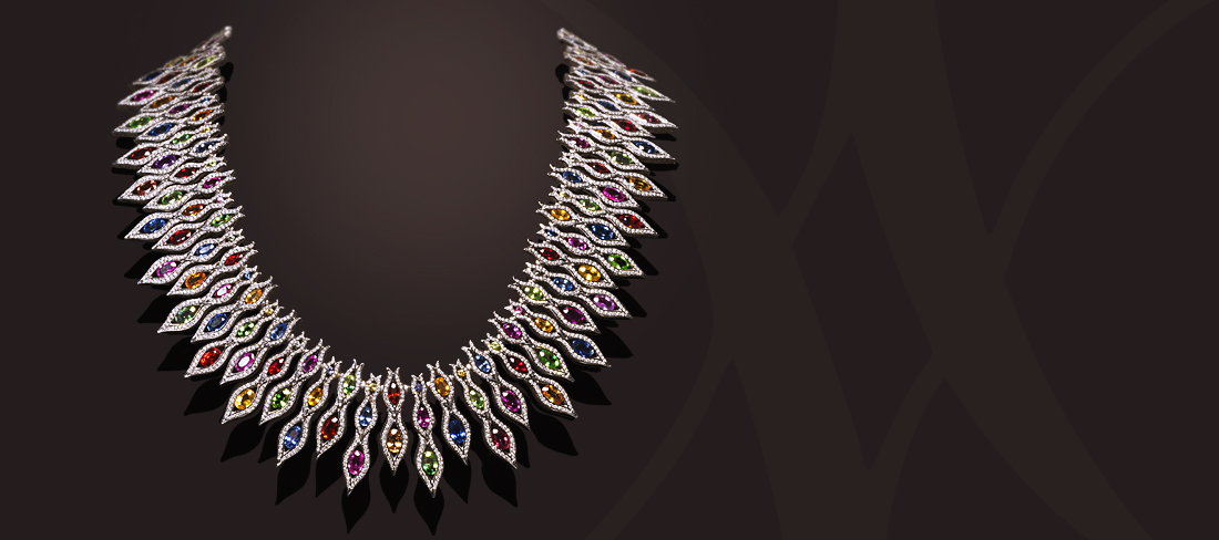 Flamme Collier C102